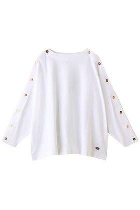 【エリオポール/heliopole】の【ARMOR LUX】ショルダーボタンカットソー レディースファッション・服の通販 founy(ファニー) ファッション Fashion レディースファッション WOMEN トップス・カットソー Tops/Tshirt シャツ/ブラウス Shirts/Blouses ロング / Tシャツ T-Shirts カットソー Cut and Sewn スリーブ ロング 再入荷 Restock/Back in Stock/Re Arrival  ID:prp329100001177355