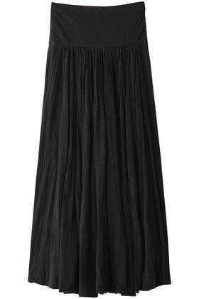 【スリー ドッツ/three dots】のjersey colette long skirt/ロングスカート レディースファッション・服の通販 founy(ファニー) ファッション Fashion レディースファッション WOMEN スカート Skirt ロングスカート Long Skirt ギャザー シンプル フレア ロング  ID:prp329100001266401