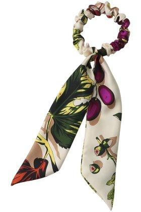 【マニプリ/manipuri】のスカーフリボンシュシュ レディースファッション・服の通販 founy(ファニー) ファッション Fashion レディースファッション WOMEN シュシュ / ヘアアクセ Hair Accessories とろみ シルク パーティ |ID:prp329100001392720