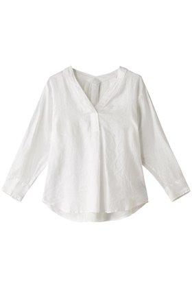 【ジェット/JET】の【JET LOSANGELES】リネンVネックブラウス レディースファッション・服の通販 founy(ファニー) ファッション Fashion レディースファッション WOMEN トップス・カットソー Tops/Tshirt シャツ/ブラウス Shirts/Blouses Vネック V-Neck スリーブ フォルム リネン ロング |ID:prp329100001446649