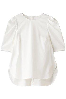 【アナイ/ANAYI】のコットンサテンマトンスリーブブラウス レディースファッション・服の通販 founy(ファニー) ファッション Fashion レディースファッション WOMEN トップス・カットソー Tops/Tshirt シャツ/ブラウス Shirts/Blouses サテン ショート スリーブ バランス ボトム  ID:prp329100001450232