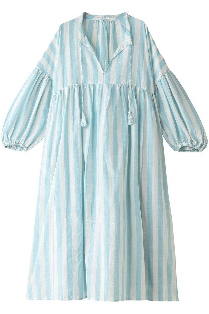 【ハウス オブ ロータス/HOUSE OF LOTUS】のカディストライプワンピース インテリア・キッズ・メンズ・レディースファッション・服の通販 founy(ファニー) https://founy.com/ ファッション Fashion レディースファッション WOMEN ワンピース Dress S/S・春夏 SS・Spring/Summer おすすめ Recommend インド ストライプ スリット セットアップ タッセル リボン ロング 定番 Standard 春 Spring |ID: prp329100001484072 ipo3291000000007198958