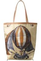 【マニプリ/manipuri】のクラシックバルーントートバッグ レディースファッション・服の通販 founy(ファニー) ファッション Fashion レディースファッション WOMEN バッグ Bag なめらか クラシカル バルーン プリント  ID:prp329100001490586