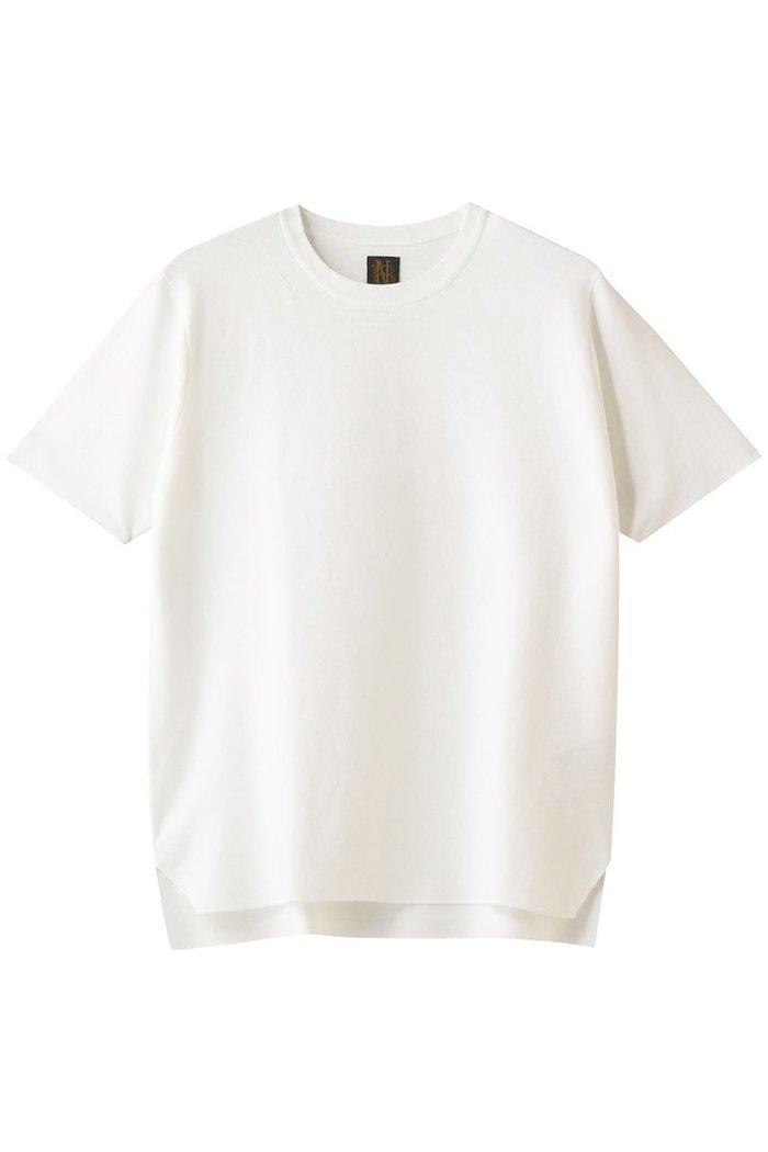 【バトナー/BATONER】の32Gスムース編みニットTシャツ インテリア・キッズ・メンズ・レディースファッション・服の通販 founy(ファニー) https://founy.com/ ファッション Fashion レディースファッション WOMEN トップス・カットソー Tops/Tshirt ニット Knit Tops シャツ/ブラウス Shirts/Blouses ロング / Tシャツ T-Shirts プルオーバー Pullover なめらか シンプル ボトム |ID: prp329100001496223 ipo3291000000007261614