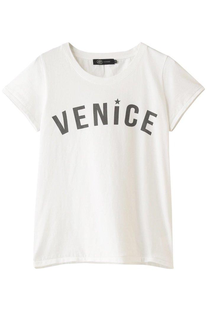 【ジェット/JET】の【JET LOSANGELES】VENICEプリントTシャツ インテリア・キッズ・メンズ・レディースファッション・服の通販 founy(ファニー) https://founy.com/ ファッション Fashion レディースファッション WOMEN トップス・カットソー Tops/Tshirt シャツ/ブラウス Shirts/Blouses ロング / Tシャツ T-Shirts カットソー Cut and Sewn なめらか ショート スリーブ フロント プリント ヴィンテージ |ID: prp329100001538362 ipo3291000000007502248