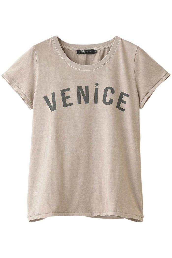 【ジェット/JET】の【JET LOSANGELES】VENICEプリントTシャツ インテリア・キッズ・メンズ・レディースファッション・服の通販 founy(ファニー) https://founy.com/ ファッション Fashion レディースファッション WOMEN トップス・カットソー Tops/Tshirt シャツ/ブラウス Shirts/Blouses ロング / Tシャツ T-Shirts カットソー Cut and Sewn なめらか ショート スリーブ フロント プリント ヴィンテージ  ID: prp329100001538362 ipo3291000000007502251