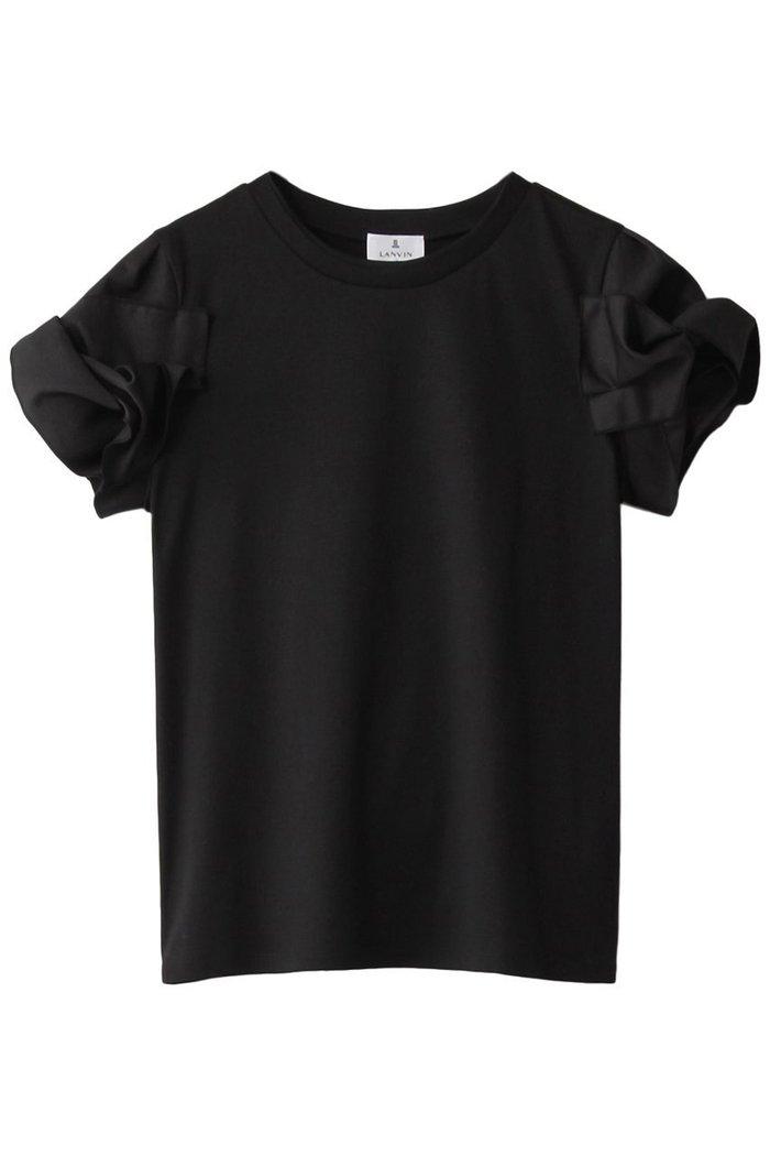 【ランバン オン ブルー/LANVIN en Bleu】のグログランスリーブTEE インテリア・キッズ・メンズ・レディースファッション・服の通販 founy(ファニー) https://founy.com/ ファッション Fashion レディースファッション WOMEN トップス・カットソー Tops/Tshirt シャツ/ブラウス Shirts/Blouses ロング / Tシャツ T-Shirts カットソー Cut and Sewn グログラン ショート スリーブ フェミニン リボン |ID: prp329100001620478 ipo3291000000008112258