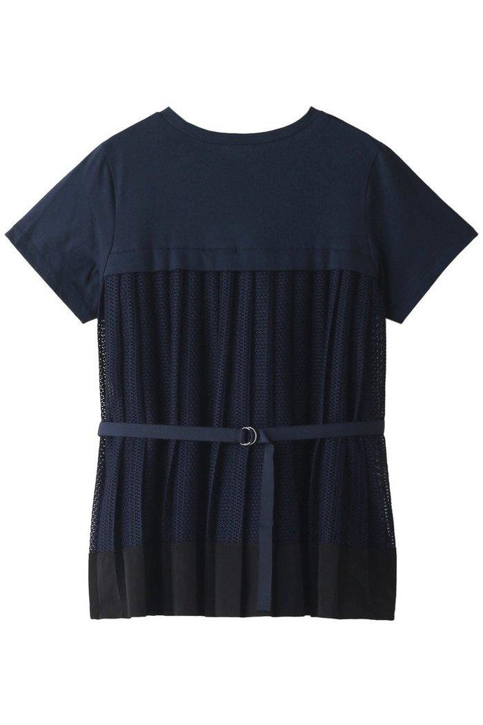 【ランバン オン ブルー/LANVIN en Bleu】のバックプリーツレースTEE インテリア・キッズ・メンズ・レディースファッション・服の通販 founy(ファニー) https://founy.com/ ファッション Fashion レディースファッション WOMEN トップス・カットソー Tops/Tshirt シャツ/ブラウス Shirts/Blouses ロング / Tシャツ T-Shirts カットソー Cut and Sewn S/S・春夏 SS・Spring/Summer ショート シンプル スリーブ トレンド プリーツ モダン レース 半袖 夏 Summer 春 Spring |ID: prp329100001620480 ipo3291000000008112265