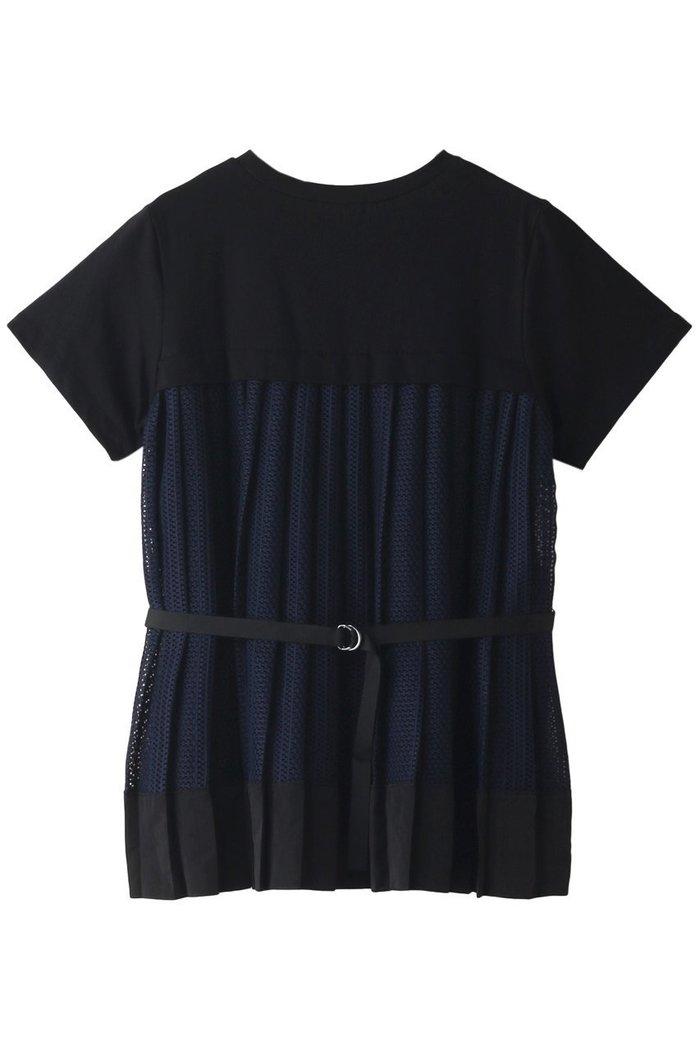 【ランバン オン ブルー/LANVIN en Bleu】のバックプリーツレースTEE インテリア・キッズ・メンズ・レディースファッション・服の通販 founy(ファニー) https://founy.com/ ファッション Fashion レディースファッション WOMEN トップス・カットソー Tops/Tshirt シャツ/ブラウス Shirts/Blouses ロング / Tシャツ T-Shirts カットソー Cut and Sewn S/S・春夏 SS・Spring/Summer ショート シンプル スリーブ トレンド プリーツ モダン レース 半袖 夏 Summer 春 Spring |ID: prp329100001620480 ipo3291000000008112268
