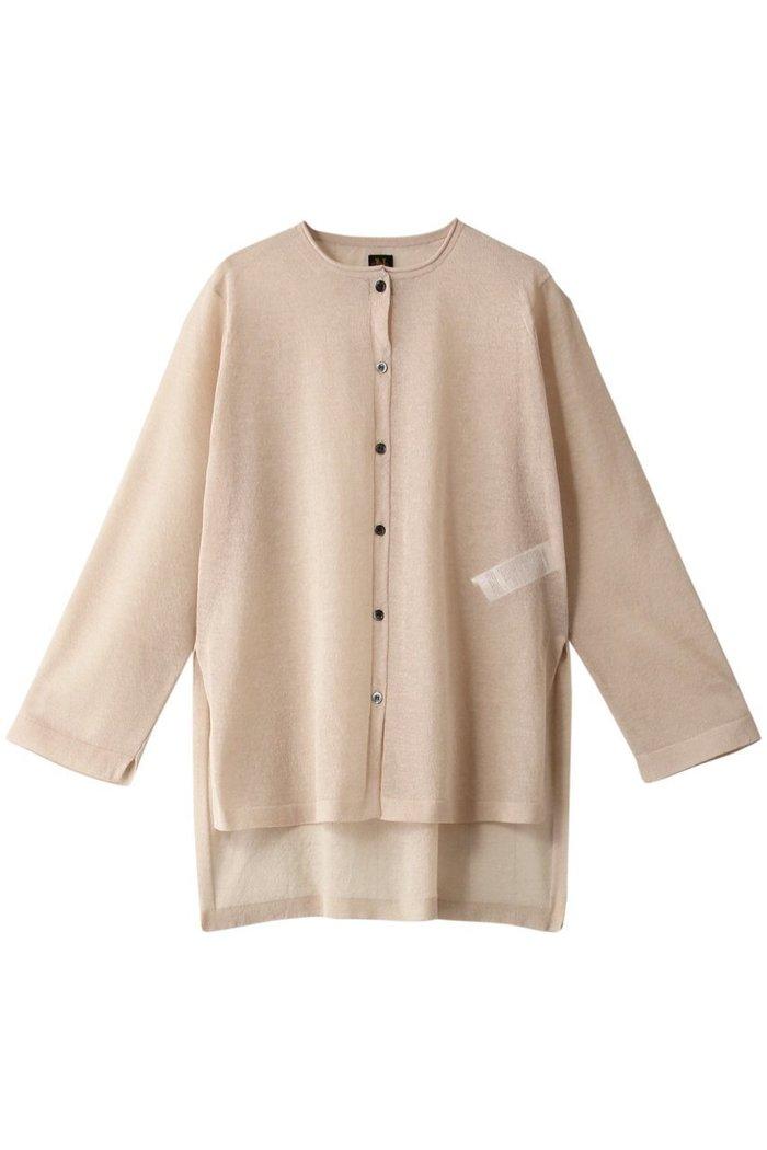 【バトナー/BATONER】のハイゲージシースルーカーディガン インテリア・キッズ・メンズ・レディースファッション・服の通販 founy(ファニー) https://founy.com/ ファッション Fashion レディースファッション WOMEN トップス・カットソー Tops/Tshirt ニット Knit Tops カーディガン Cardigans カーディガン シアー シンプル スリット トレンド |ID: prp329100001624902 ipo3291000000008140643