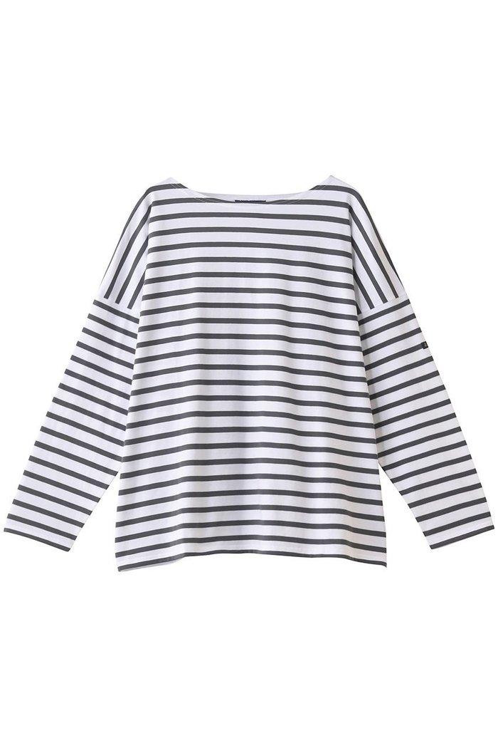 【ルミノア/Le minor】のグランドバトー インテリア・キッズ・メンズ・レディースファッション・服の通販 founy(ファニー) https://founy.com/ ファッション Fashion レディースファッション WOMEN トップス・カットソー Tops/Tshirt シャツ/ブラウス Shirts/Blouses ロング / Tシャツ T-Shirts カットソー Cut and Sewn スリーブ ロング 定番 Standard |ID: prp329100001629106 ipo3291000000008163440