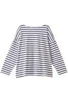 【ルミノア/Le minor】のグランドバトー 人気、トレンドファッション・服の通販 founy(ファニー) ファッション Fashion レディースファッション WOMEN トップス・カットソー Tops/Tshirt シャツ/ブラウス Shirts/Blouses ロング / Tシャツ T-Shirts カットソー Cut and Sewn スリーブ ロング 定番 Standard  ID:prp329100001629106