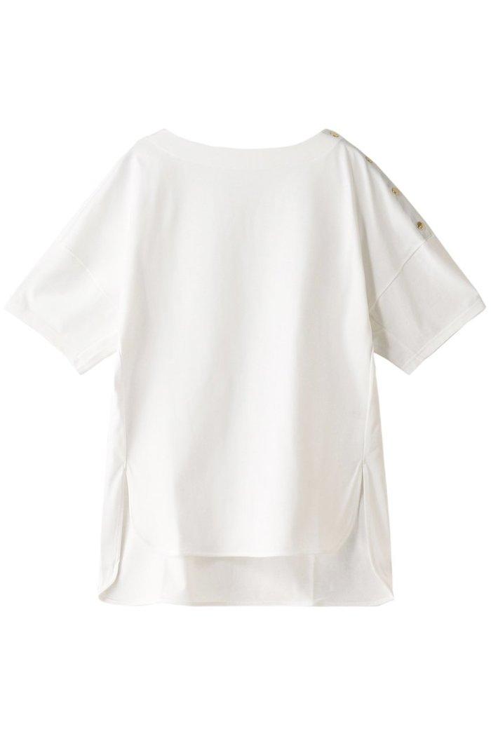 【ハウス オブ ロータス/HOUSE OF LOTUS】のギザコットンボートネックプルオーバー インテリア・キッズ・メンズ・レディースファッション・服の通販 founy(ファニー) https://founy.com/ ファッション Fashion レディースファッション WOMEN トップス・カットソー Tops/Tshirt シャツ/ブラウス Shirts/Blouses プルオーバー Pullover ショート スリット スリーブ 半袖 |ID: prp329100001629116 ipo3291000000008163471