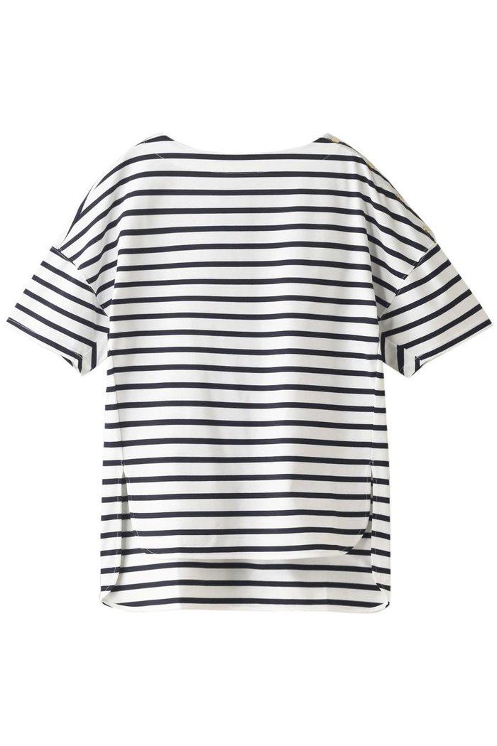 【ハウス オブ ロータス/HOUSE OF LOTUS】のギザコットンボーダーボートネックプルオーバー インテリア・キッズ・メンズ・レディースファッション・服の通販 founy(ファニー) https://founy.com/ ファッション Fashion レディースファッション WOMEN トップス・カットソー Tops/Tshirt シャツ/ブラウス Shirts/Blouses ロング / Tシャツ T-Shirts プルオーバー Pullover カットソー Cut and Sewn ショート スリット スリーブ ボーダー 半袖 |ID: prp329100001629118 ipo3291000000008163477