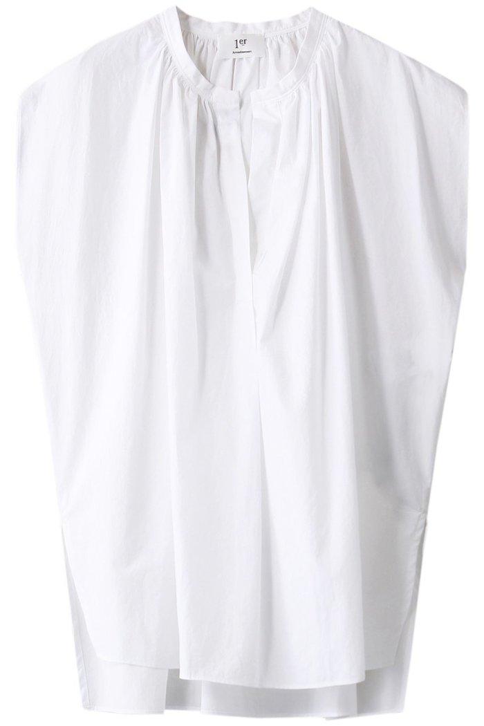 【プルミエ アロンディスモン/1er Arrondissement】のフレンチスリーブコットンブラウス インテリア・キッズ・メンズ・レディースファッション・服の通販 founy(ファニー) https://founy.com/ ファッション Fashion レディースファッション WOMEN トップス・カットソー Tops/Tshirt シャツ/ブラウス Shirts/Blouses ギャザー ショート スリット スリーブ フレンチ |ID: prp329100001629124 ipo3291000000008163493