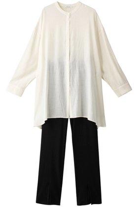 【エジック/Ezick】のリブPTセットブラウス 人気、トレンドファッション・服の通販 founy(ファニー) ファッション Fashion レディースファッション WOMEN トップス・カットソー Tops/Tshirt シャツ/ブラウス Shirts/Blouses シンプル スリーブ ロング |ID:prp329100001634206