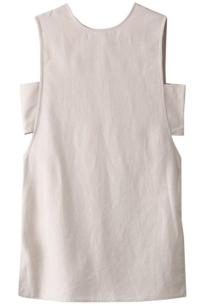【エジック/Ezick】のデザインロングノースリブラウス インテリア・キッズ・メンズ・レディースファッション・服の通販 founy(ファニー) https://founy.com/ ファッション Fashion レディースファッション WOMEN トップス・カットソー Tops/Tshirt キャミソール / ノースリーブ No Sleeves シャツ/ブラウス Shirts/Blouses スリット トレンド ノースリーブ プレーン |ID: prp329100001634215 ipo3291000000008199635