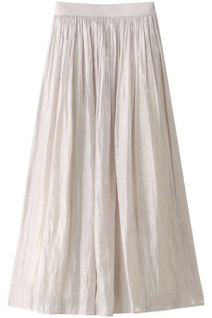 【アルアバイル/allureville】のプラチナサテンギャザースカート インテリア・キッズ・メンズ・レディースファッション・服の通販 founy(ファニー) https://founy.com/ ファッション Fashion レディースファッション WOMEN スカート Skirt S/S・春夏 SS・Spring/Summer サテン シアー 夏 Summer 春 Spring |ID: prp329100001634304 ipo3291000000008199921