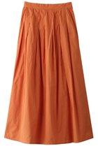 【ローズバッド/ROSE BUD】のインドタックロングスカート オレンジ|ID: prp329100001634318 ipo3291000000008199972