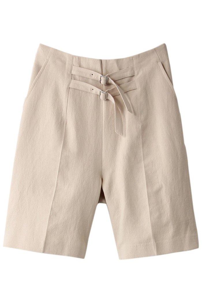 【ローズバッド/ROSE BUD】のダブルベルトショートパンツ インテリア・キッズ・メンズ・レディースファッション・服の通販 founy(ファニー) https://founy.com/ ファッション Fashion レディースファッション WOMEN パンツ Pants ハーフ / ショートパンツ Short Pants ベルト Belts ショート シンプル センター ダブル フロント  ID: prp329100001634321 ipo3291000000008199981