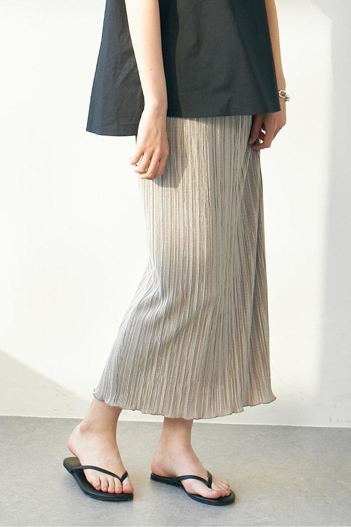 【ガリャルダガランテ/GALLARDAGALANTE】のプリーツタイトスカート インテリア・キッズ・メンズ・レディースファッション・服の通販 founy(ファニー) https://founy.com/ ファッション Fashion レディースファッション WOMEN スカート Skirt インナー カットソー サテン スウェット タイトスカート プリーツ ランダム |ID: prp329100001634351 ipo3291000000008200083
