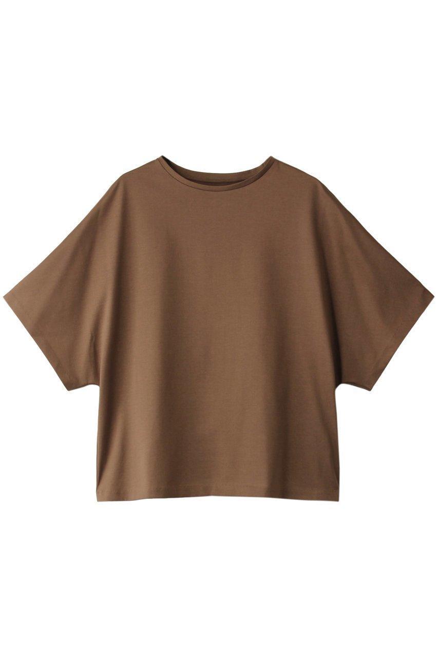 【マルティニーク/martinique】のクルーネックラグランTシャツ インテリア・キッズ・メンズ・レディースファッション・服の通販 founy(ファニー)  ファッション Fashion レディースファッション WOMEN トップス・カットソー Tops/Tshirt シャツ/ブラウス Shirts/Blouses ロング / Tシャツ T-Shirts シンプル 再入荷 Restock/Back in Stock/Re Arrival 夏 Summer ブラウン|ID: prp329100001647223 ipo3291000000009186434