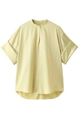 【ルシェル ブルー/LE CIEL BLEU】のサテンワイドカフトップス 人気、トレンドファッション・服の通販 founy(ファニー) ファッション Fashion レディースファッション WOMEN トップス・カットソー Tops/Tshirt おすすめ Recommend サテン セットアップ ロールアップ |ID:prp329100001687666