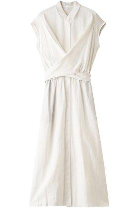 【エジック/Ezick】のクロスリネンシャツワンピース 人気、トレンドファッション・服の通販 founy(ファニー) ファッション Fashion レディースファッション WOMEN ワンピース Dress シャツワンピース Shirt Dresses カシュクール パーティ フロント リネン |ID:prp329100001705614