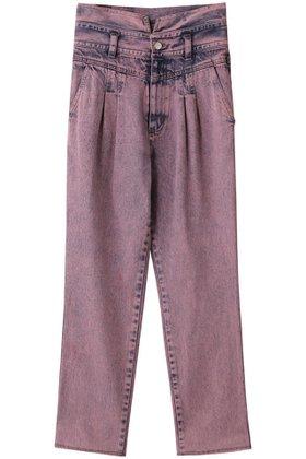 【メゾンスペシャル/MAISON SPECIAL】のカラーケミカルデニムパンツ 人気、トレンドファッション・服の通販 founy(ファニー) ファッション Fashion レディースファッション WOMEN パンツ Pants デニムパンツ Denim Pants デニム  ID:prp329100001742432