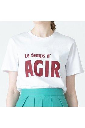 【アルアバイル/allureville】の【Les Petits Basics】LOGO TSHIRTS 人気、トレンドファッション・服の通販 founy(ファニー) ファッション Fashion レディースファッション WOMEN トップス・カットソー Tops/Tshirt シャツ/ブラウス Shirts/Blouses ロング / Tシャツ T-Shirts 2021年 2021 2021-2022秋冬・A/W AW・Autumn/Winter・FW・Fall-Winter・2021-2022 A/W・秋冬 AW・Autumn/Winter・FW・Fall-Winter インナー トレンド |ID:prp329100001743240