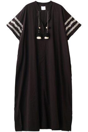 【ローズバッド/ROSE BUD】の【HLAADA FOR ROSE BUD】エンブロイダリーリラックスイージードレス 人気、トレンドファッション・服の通販 founy(ファニー) ファッション Fashion レディースファッション WOMEN ワンピース Dress ドレス Party Dresses エスニック シンプル スモック ドレス フロント リラックス 夏 Summer  ID:prp329100001743276