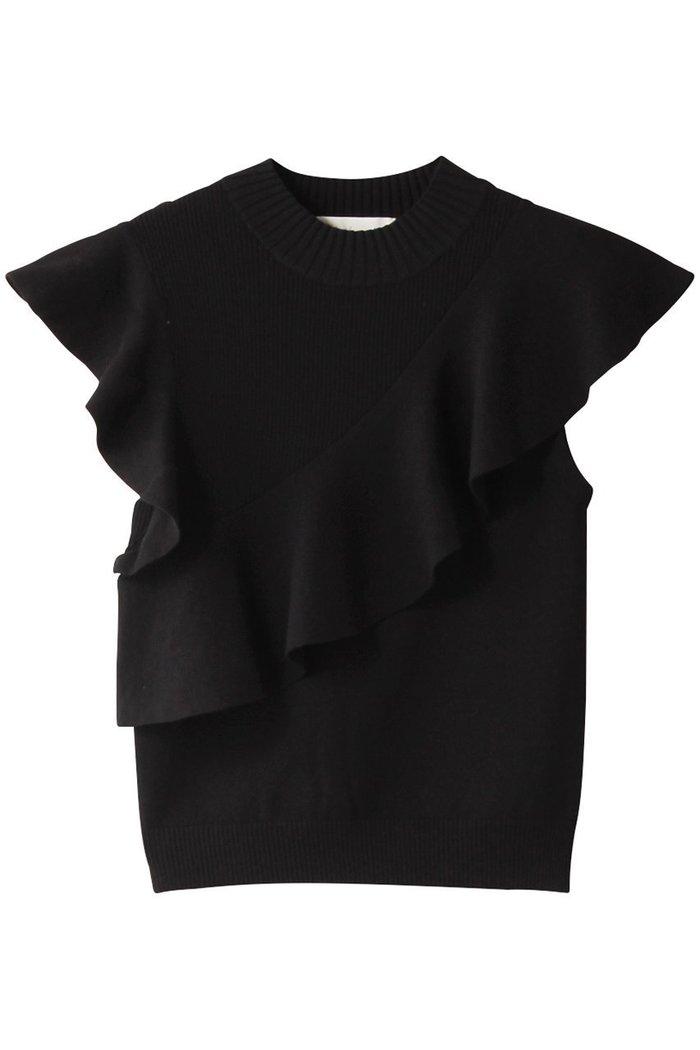 【トランテアン ソン ドゥ モード/31 Sons de mode】のアシメフリルニット インテリア・キッズ・メンズ・レディースファッション・服の通販 founy(ファニー) https://founy.com/ ファッション Fashion レディースファッション WOMEN トップス・カットソー Tops/Tshirt ニット Knit Tops プルオーバー Pullover アシンメトリー タイトスカート ノースリーブ フレア ボトム |ID: prp329100001770345 ipo3291000000012588810