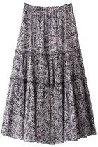 【ハウス オブ ロータス/HOUSE OF LOTUS】のペイズリープリントティアードスカート 人気、トレンドファッション・服の通販 founy(ファニー) ファッション Fashion レディースファッション WOMEN スカート Skirt ティアードスカート Tiered Skirts ロングスカート Long Skirt 2020年 2020 2020-2021秋冬・A/W AW・Autumn/Winter・FW・Fall-Winter/2020-2021 2021年 2021 2021-2022秋冬・A/W AW・Autumn/Winter・FW・Fall-Winter・2021-2022 A/W・秋冬 AW・Autumn/Winter・FW・Fall-Winter ティアード ペイズリー モザイク ロング 再入荷 Restock/Back in Stock/Re Arrival 夏 Summer thumbnail ネイビー|ID: prp329100001859431 ipo3291000000010609772