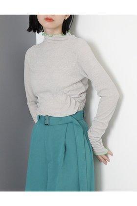【ローズバッド/ROSE BUD】のシャーリングカットソー 人気、トレンドファッション・服の通販 founy(ファニー) ファッション Fashion レディースファッション WOMEN トップス・カットソー Tops/Tshirt シャツ/ブラウス Shirts/Blouses ロング / Tシャツ T-Shirts カットソー Cut and Sewn 2020年 2020 2020-2021秋冬・A/W AW・Autumn/Winter・FW・Fall-Winter/2020-2021 2021年 2021 2021-2022秋冬・A/W AW・Autumn/Winter・FW・Fall-Winter・2021-2022 A/W・秋冬 AW・Autumn/Winter・FW・Fall-Winter インナー カットソー シアー スリーブ フィット ロング  ID:prp329100001864313