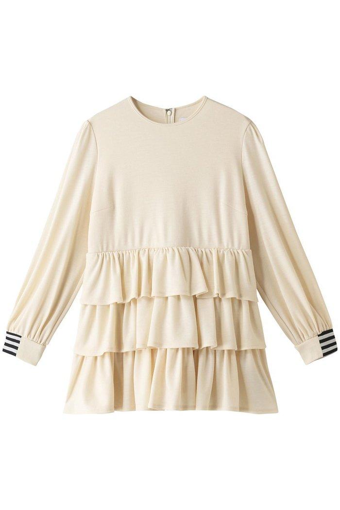 【ボーダーズ アット バルコニー/BORDERS at BALCONY】のウィークエンドティアードトップ インテリア・キッズ・メンズ・レディースファッション・服の通販 founy(ファニー) https://founy.com/ ファッション Fashion レディースファッション WOMEN トップス・カットソー Tops/Tshirt シャツ/ブラウス Shirts/Blouses ロング / Tシャツ T-Shirts カットソー Cut and Sewn 2020年 2020 2020-2021秋冬・A/W AW・Autumn/Winter・FW・Fall-Winter/2020-2021 2021年 2021 2021-2022秋冬・A/W AW・Autumn/Winter・FW・Fall-Winter・2021-2022 A/W・秋冬 AW・Autumn/Winter・FW・Fall-Winter おすすめ Recommend スリーブ バランス フォルム ボトム ロング 人気 定番 Standard |ID: prp329100001868560 ipo3291000000010697936