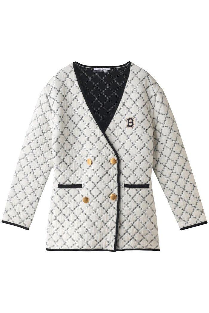 【ボーダーズ アット バルコニー/BORDERS at BALCONY】のニットキルテッドジャケット インテリア・キッズ・メンズ・レディースファッション・服の通販 founy(ファニー) https://founy.com/ ファッション Fashion レディースファッション WOMEN アウター Coat Outerwear ジャケット Jackets 2020年 2020 2020-2021秋冬・A/W AW・Autumn/Winter・FW・Fall-Winter/2020-2021 2021年 2021 2021-2022秋冬・A/W AW・Autumn/Winter・FW・Fall-Winter・2021-2022 A/W・秋冬 AW・Autumn/Winter・FW・Fall-Winter キルティング ジャケット パイピング パーティ |ID: prp329100001868566 ipo3291000000010697956