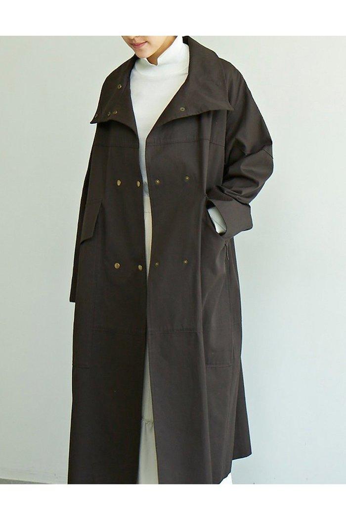 【ガリャルダガランテ/GALLARDAGALANTE】の【CEPIE.】コットンギャバスタンドコート インテリア・キッズ・メンズ・レディースファッション・服の通販 founy(ファニー) https://founy.com/ ファッション Fashion レディースファッション WOMEN アウター Coat Outerwear コート Coats 2020年 2020 2020-2021秋冬・A/W AW・Autumn/Winter・FW・Fall-Winter/2020-2021 2021年 2021 2021-2022秋冬・A/W AW・Autumn/Winter・FW・Fall-Winter・2021-2022 A/W・秋冬 AW・Autumn/Winter・FW・Fall-Winter おすすめ Recommend スタイリッシュ スタンド デニム ポケット ロング |ID: prp329100001872677 ipo3291000000010781949