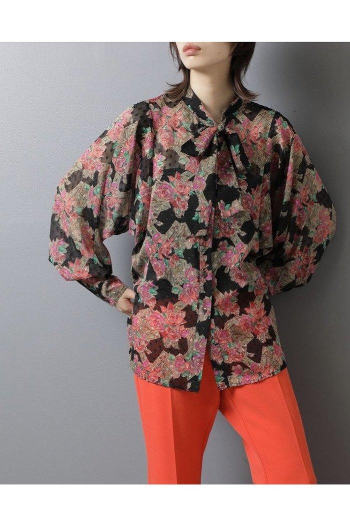 【ローズバッド/ROSE BUD】のフラワーボウタイブラウス インテリア・キッズ・メンズ・レディースファッション・服の通販 founy(ファニー) https://founy.com/ ファッション Fashion レディースファッション WOMEN トップス・カットソー Tops/Tshirt シャツ/ブラウス Shirts/Blouses 2020年 2020 2020-2021秋冬・A/W AW・Autumn/Winter・FW・Fall-Winter/2020-2021 2021年 2021 2021-2022秋冬・A/W AW・Autumn/Winter・FW・Fall-Winter・2021-2022 A/W・秋冬 AW・Autumn/Winter・FW・Fall-Winter スリーブ トレンド フラワー プリント プリーツ ロング |ID: prp329100001883241 ipo3291000000010908035