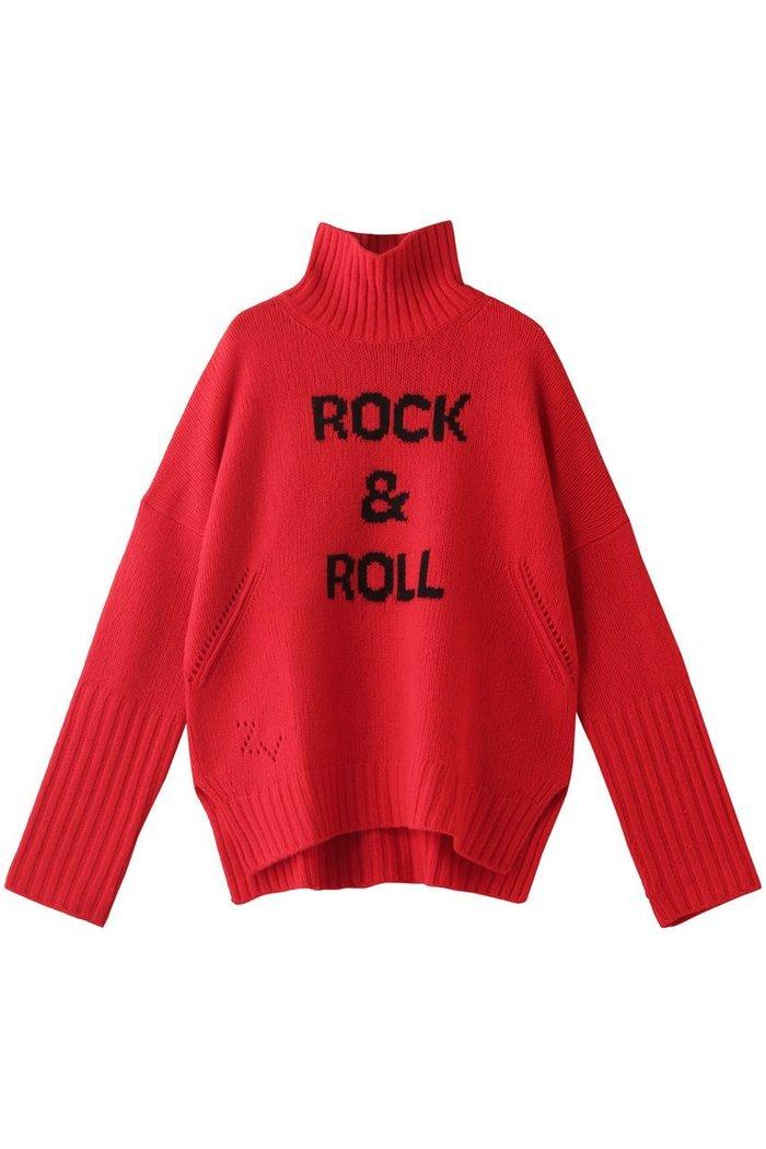 【ザディグ エ ヴォルテール/ZADIG & VOLTAIRE】のALMA MW RR SWEATER ニット インテリア・キッズ・メンズ・レディースファッション・服の通販 founy(ファニー) https://founy.com/ ファッション Fashion レディースファッション WOMEN トップス・カットソー Tops/Tshirt ニット Knit Tops パーカ Sweats プルオーバー Pullover スウェット Sweat 2020年 2020 2020-2021秋冬・A/W AW・Autumn/Winter・FW・Fall-Winter/2020-2021 2021年 2021 2021-2022秋冬・A/W AW・Autumn/Winter・FW・Fall-Winter・2021-2022 A/W・秋冬 AW・Autumn/Winter・FW・Fall-Winter シンプル スリーブ ハイネック フロント ミックス ロング 防寒 |ID: prp329100001883249 ipo3291000000010908053
