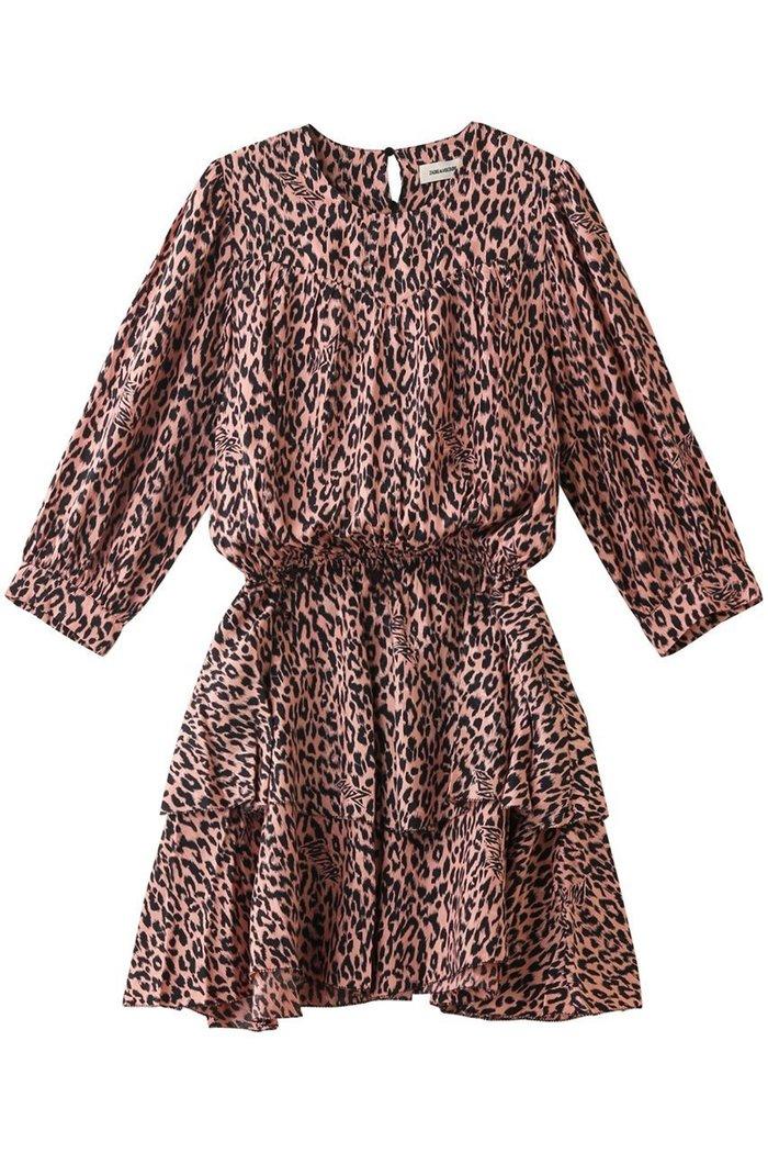 【ザディグ エ ヴォルテール/ZADIG & VOLTAIRE】のROOKA SQUELETON JAC LEO IKAT DRESS ワンピース インテリア・キッズ・メンズ・レディースファッション・服の通販 founy(ファニー) https://founy.com/ ファッション Fashion レディースファッション WOMEN ワンピース Dress ドレス Party Dresses チュニック Tunic 2020年 2020 2020-2021秋冬・A/W AW・Autumn/Winter・FW・Fall-Winter/2020-2021 2021年 2021 2021-2022秋冬・A/W AW・Autumn/Winter・FW・Fall-Winter・2021-2022 A/W・秋冬 AW・Autumn/Winter・FW・Fall-Winter コンパクト シルク チュニック ブラウジング ミックス レオパード  ID: prp329100001883254 ipo3291000000010908063