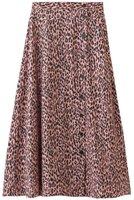 【ザディグ エ ヴォルテール/ZADIG & VOLTAIRE】のJUNE SQUELETON JAC LEO IKAT SKIRT スカート 人気、トレンドファッション・服の通販 founy(ファニー) ファッション Fashion レディースファッション WOMEN スカート Skirt 2020年 2020 2020-2021秋冬・A/W AW・Autumn/Winter・FW・Fall-Winter/2020-2021 2021年 2021 2021-2022秋冬・A/W AW・Autumn/Winter・FW・Fall-Winter・2021-2022 A/W・秋冬 AW・Autumn/Winter・FW・Fall-Winter とろみ なめらか シルク プリント レオパード ロング |ID:prp329100001883257