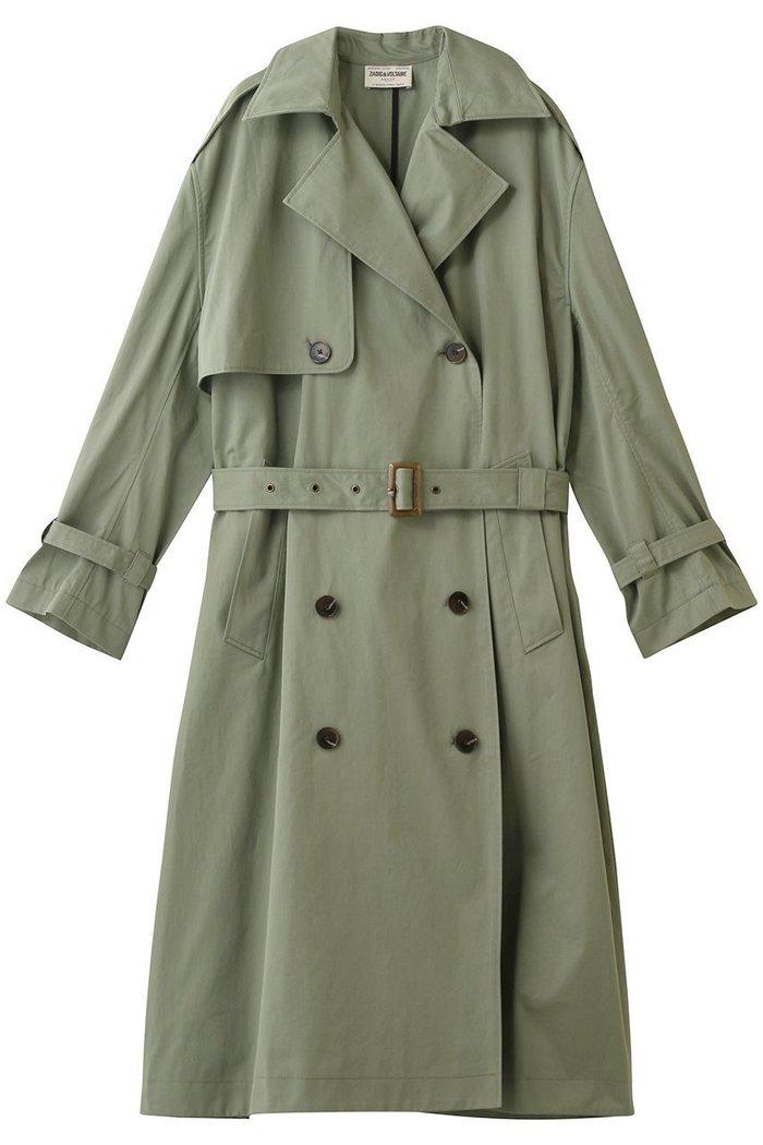 【ザディグ エ ヴォルテール/ZADIG & VOLTAIRE】のKENA COTON COAT コート インテリア・キッズ・メンズ・レディースファッション・服の通販 founy(ファニー) https://founy.com/ ファッション Fashion レディースファッション WOMEN アウター Coat Outerwear コート Coats 2020年 2020 2020-2021秋冬・A/W AW・Autumn/Winter・FW・Fall-Winter/2020-2021 2021年 2021 2021-2022秋冬・A/W AW・Autumn/Winter・FW・Fall-Winter・2021-2022 A/W・秋冬 AW・Autumn/Winter・FW・Fall-Winter ロング |ID: prp329100001883259 ipo3291000000010908073
