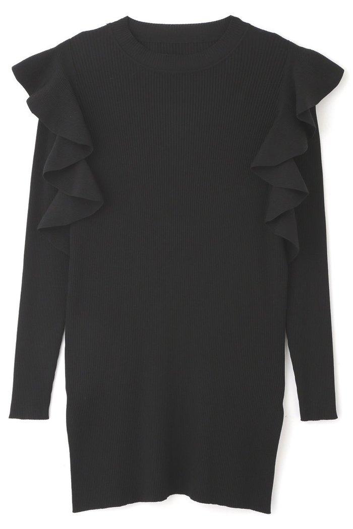 【アドーア/ADORE】のRIBラッフルニット インテリア・キッズ・メンズ・レディースファッション・服の通販 founy(ファニー) https://founy.com/ ファッション Fashion レディースファッション WOMEN トップス・カットソー Tops/Tshirt ニット Knit Tops プルオーバー Pullover 2020年 2020 2020-2021秋冬・A/W AW・Autumn/Winter・FW・Fall-Winter/2020-2021 2021年 2021 2021-2022秋冬・A/W AW・Autumn/Winter・FW・Fall-Winter・2021-2022 A/W・秋冬 AW・Autumn/Winter・FW・Fall-Winter ベーシック ラッフル |ID: prp329100001883272 ipo3291000000010908109