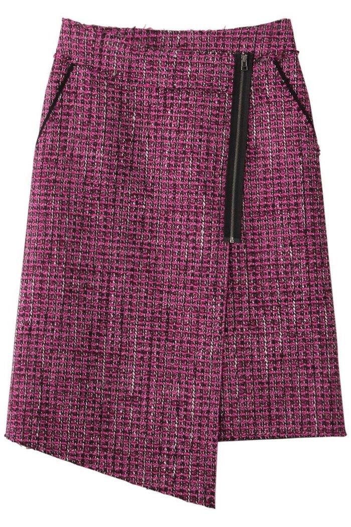 【ランバン オン ブルー/LANVIN en Bleu】のボンディングツイードラップスカート インテリア・キッズ・メンズ・レディースファッション・服の通販 founy(ファニー) https://founy.com/ ファッション Fashion レディースファッション WOMEN スカート Skirt A/W・秋冬 AW・Autumn/Winter・FW・Fall-Winter おすすめ Recommend イレギュラー ジップ セットアップ ツイード |ID: prp329100001883277 ipo3291000000010908146