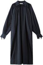 【ノーメント/normment】のポプリンヴィンテージシェイプシャツドレス ネイビー|ID: prp329100001883307 ipo3291000000010908303