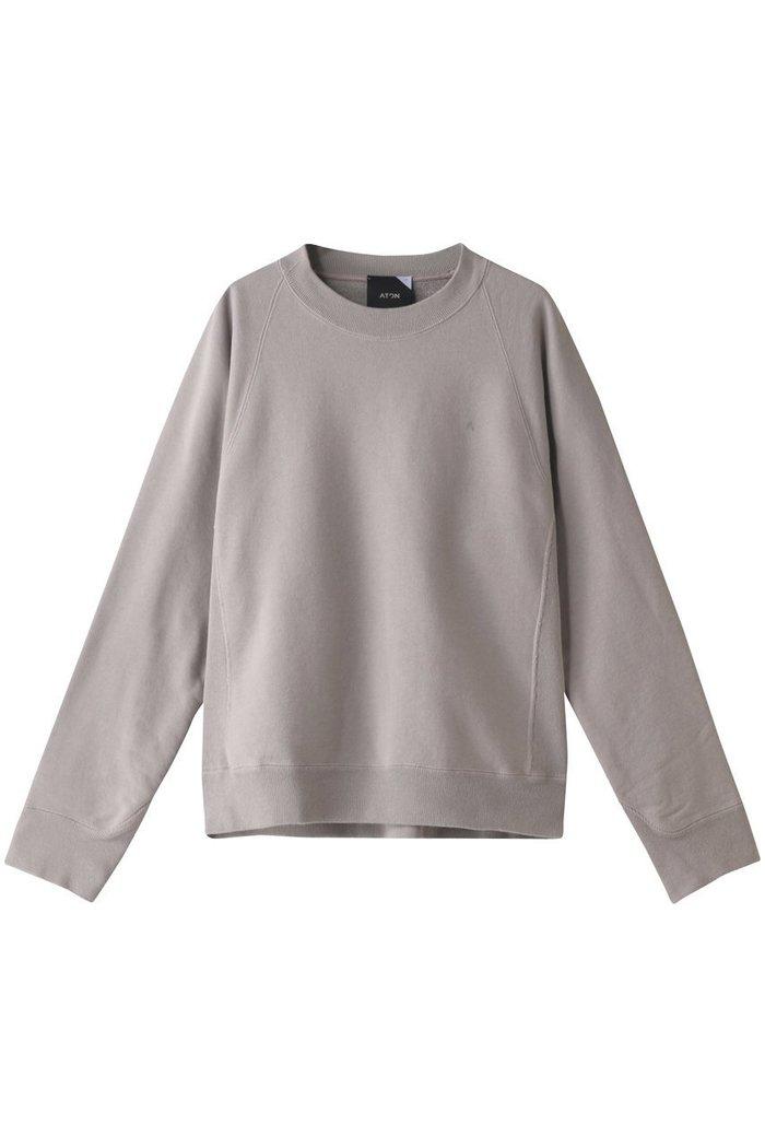 【エイトン/ATON】の【UNISEX】NATURAL DYE裏毛クルーネックプルオーバー インテリア・キッズ・メンズ・レディースファッション・服の通販 founy(ファニー) https://founy.com/ ファッション Fashion レディースファッション WOMEN トップス・カットソー Tops/Tshirt シャツ/ブラウス Shirts/Blouses パーカ Sweats ロング / Tシャツ T-Shirts プルオーバー Pullover スウェット Sweat カットソー Cut and Sewn 2020年 2020 2020-2021秋冬・A/W AW・Autumn/Winter・FW・Fall-Winter/2020-2021 2021年 2021 2021-2022秋冬・A/W AW・Autumn/Winter・FW・Fall-Winter・2021-2022 A/W・秋冬 AW・Autumn/Winter・FW・Fall-Winter UNISEX トレーナー  ID: prp329100001883308 ipo3291000000010908304