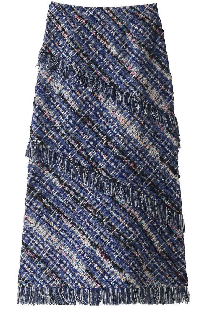 【ルール ロジェット/leur logette】のツイードスカート インテリア・キッズ・メンズ・レディースファッション・服の通販 founy(ファニー) https://founy.com/ ファッション Fashion レディースファッション WOMEN スカート Skirt 2020年 2020 2020-2021秋冬・A/W AW・Autumn/Winter・FW・Fall-Winter/2020-2021 2021年 2021 2021-2022秋冬・A/W AW・Autumn/Winter・FW・Fall-Winter・2021-2022 A/W・秋冬 AW・Autumn/Winter・FW・Fall-Winter オケージョン シンプル ツイード フリンジ  ID: prp329100001883318 ipo3291000000010908331