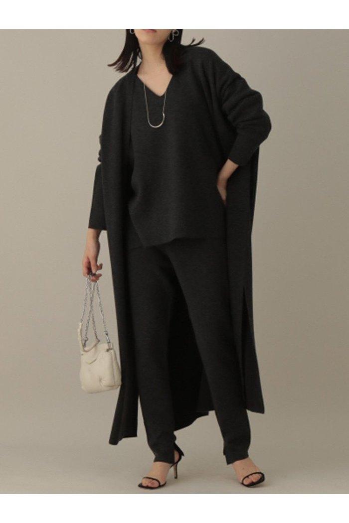 【カオス/Chaos】のラマーリバーロングニットカーディガン インテリア・キッズ・メンズ・レディースファッション・服の通販 founy(ファニー) https://founy.com/ ファッション Fashion レディースファッション WOMEN トップス・カットソー Tops/Tshirt ニット Knit Tops カーディガン Cardigans 2020年 2020 2020-2021秋冬・A/W AW・Autumn/Winter・FW・Fall-Winter/2020-2021 2021年 2021 2021-2022秋冬・A/W AW・Autumn/Winter・FW・Fall-Winter・2021-2022 A/W・秋冬 AW・Autumn/Winter・FW・Fall-Winter おすすめ Recommend カーディガン ダブル フェイス ロング 冬 Winter |ID: prp329100001887147 ipo3291000000010943869