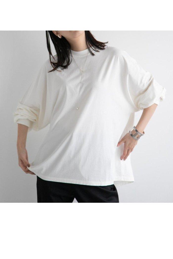 【カオス/Chaos】の【REMI RELIEF】別注ロングTシャツ インテリア・キッズ・メンズ・レディースファッション・服の通販 founy(ファニー) https://founy.com/ ファッション Fashion レディースファッション WOMEN トップス・カットソー Tops/Tshirt シャツ/ブラウス Shirts/Blouses ロング / Tシャツ T-Shirts カットソー Cut and Sewn 2020年 2020 2020-2021秋冬・A/W AW・Autumn/Winter・FW・Fall-Winter/2020-2021 2021年 2021 2021-2022秋冬・A/W AW・Autumn/Winter・FW・Fall-Winter・2021-2022 A/W・秋冬 AW・Autumn/Winter・FW・Fall-Winter なめらか コンパクト スリーブ パターン ロング ワーク ヴィンテージ 別注 |ID: prp329100001887148 ipo3291000000010943872