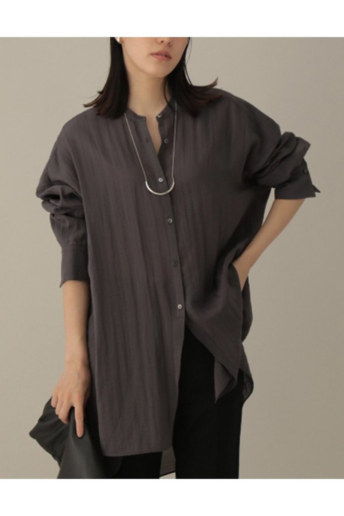 【カオス/Chaos】のライドロングシャツ インテリア・キッズ・メンズ・レディースファッション・服の通販 founy(ファニー) https://founy.com/ ファッション Fashion レディースファッション WOMEN トップス・カットソー Tops/Tshirt シャツ/ブラウス Shirts/Blouses 2020年 2020 2020-2021秋冬・A/W AW・Autumn/Winter・FW・Fall-Winter/2020-2021 2021年 2021 2021-2022秋冬・A/W AW・Autumn/Winter・FW・Fall-Winter・2021-2022 A/W・秋冬 AW・Autumn/Winter・FW・Fall-Winter シアー スリット スリーブ バランス フロント ロング |ID: prp329100001887150 ipo3291000000010943879